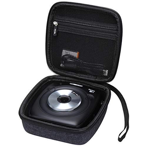 Aproca Hart Schutz Hülle Reise Tragen Etui Tasche für Fujifilm Instax Square SQ 10 SQ 20 Hybride Sofortbildkamera (Dark Blue-New Version)