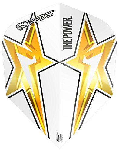 Target Phil Taylor Power Star Standard Shape Dart Flights 3 Sets
