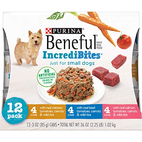 Purina Beneful Small Breed Wet Dog Food...