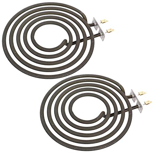 SPARES2GO Hotplate Ring Element 1800W for Creda Cooker Hob Oven (Pack of 2)