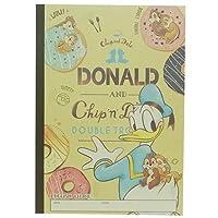ドナルド&チップ&デール / ディズニー B5 クラフト英習帳 13段 47173