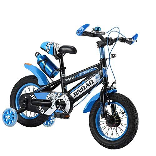 Bicicleta De Montaña De Bicicleta Niños Bicicleta Bicicleta Infantil Para Niños Y Niñas Antideslizante Grip Balance Bike Para Niños Chicas Bici De Montaña 18 Pulgadas Con Ruedas De Entrenamiento