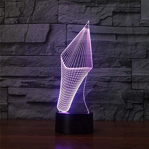Nachtlicht für kinder 3d Bleistift 3D-Mond-Lampe, USB-Ladenachtlicht, 16 LED-Farben, Fernbedienung & TouchControl-, Geburtstag Geschenk-Idee for Frauen, Mädchen, Junge, Kinder (4 Zoll-10cm) nachtlicht