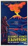 Herbé TM Auvergne Poster / Kunstdruck, 50 x 70 cm (auf