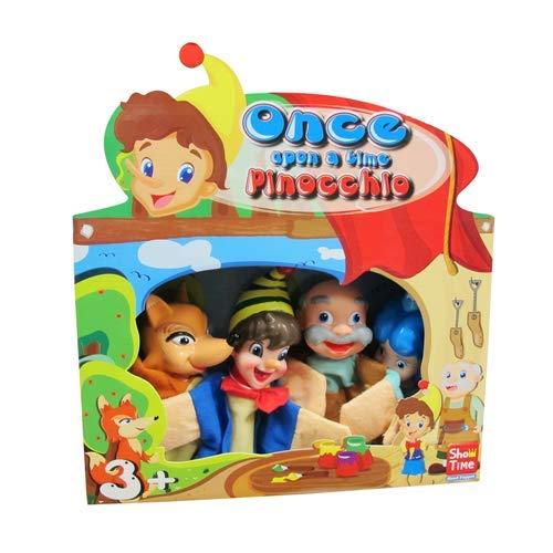 SHOW TIME 7291 – Marionetas 4 piezas Pinocho