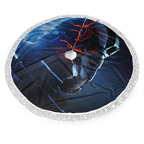 GmCslve Star War Christmas Tree Skirt 30 36 48 Inches Large Christmas Decorations Holiday Party Decor Ornaments36