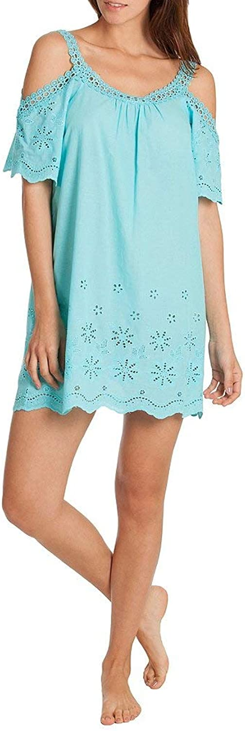 In Bloom by Jonquil Embroidered ColdShoulder Lounge Tunic
