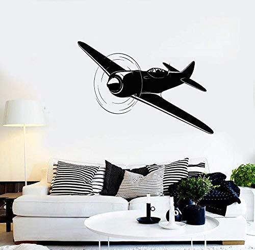 HOHHJFGG Vinilos decorativos avión avión piloto de avión piloto pegatinas regalo único...