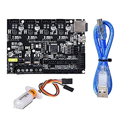 BIGTREETECH SKR Mini E3 V1.2 Control Board 32Bit with TMC2209 UART Driver 3D Printer Parts Cheetah V1.0 for Creality Ender 3 (with BLTouch)