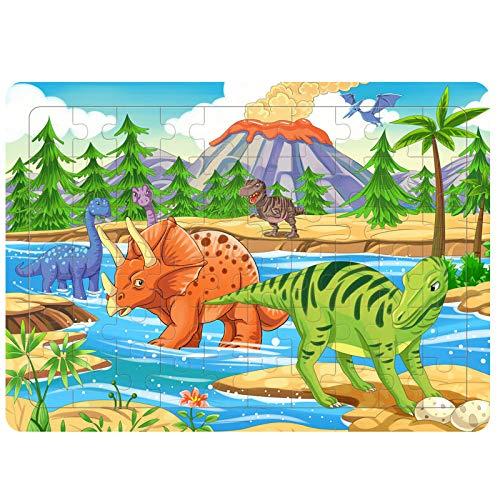 Rompecabezas De Madera Rompecabezas De Juegos Para Niños Rompecabezas De Dibujos Animados De 60 Piezas Juegos De Juguetes Para Niños Adecuado Para Niños Y Niñas De 2 A 5 Años Juguetes Educativos
