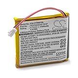 vhbw Batterie Compatible avec Coyote Plus S Appareil GPS de Navigation (1100mAh, 3,7V, Li-polymère)