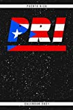 Puerto Rico. PRI. Calendar 2021: Weekly planner with monthly overview and yearly overview. Cool gift idea for Christmas, birthday or any other ... Weekly planner with dotted pages for notes