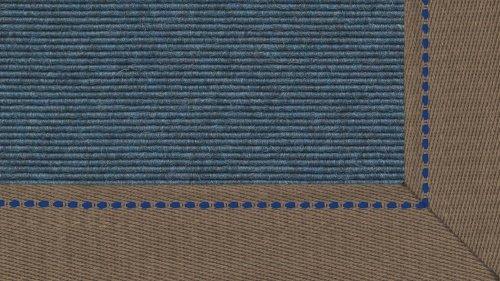 Tretford Teppiche mit Bordüre aus Leinen 4 Meter Breit Farbe tretford Leinenbordüre Lh_516_514, Größe 400cm