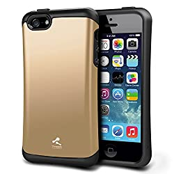 cheap iPhone 5S case, Verus [Thor][Shine Gold]  – – [Military Grade Drop Protection][Natural Grip]  behind…