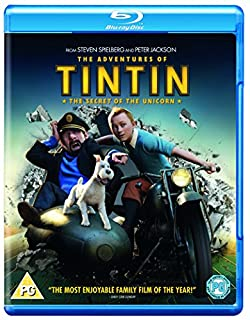 The Adventures of Tintin: The Secret Of The Unicorn [Blu-ray] [Region Free] (B007X4ODT0) | Amazon price tracker / tracking, Amazon price history charts, Amazon price watches, Amazon price drop alerts