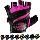 C.P.Sports Lady Gym Fitness Guante S/7 = 16-18cm Negro