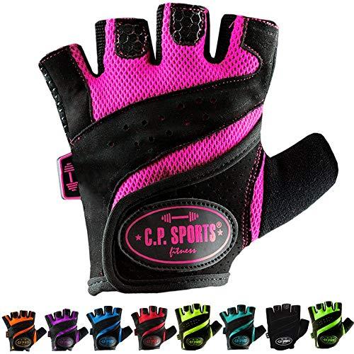 C.P.Sports Lady Gym Fitness Glove XL/10 = 22-24cm Vert Fluo