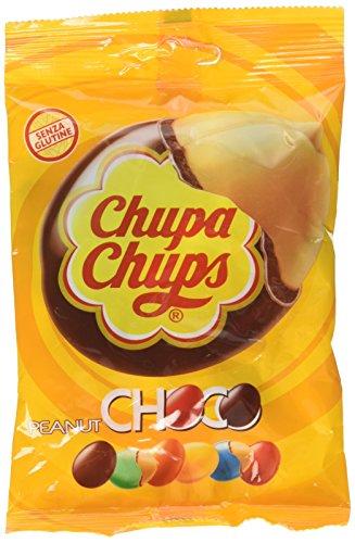 Chupa Chups Choco Peanut, Cioccolato - 100 gr - [confezione da 6]