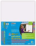 GoWrite! Dry Erase Self-Adhesive Replacement Board Covers, 20'x24', 6 Pack (1749)