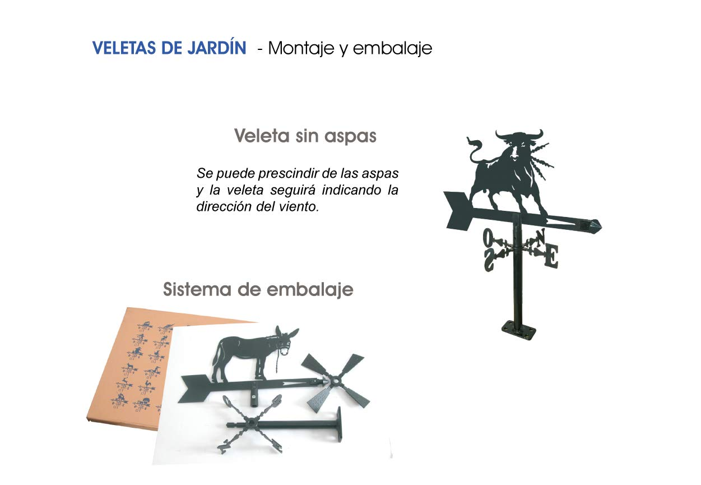 Arthifor Veleta Viento para Jardín Motociclista, Negro Mate: Amazon.es: Jardín