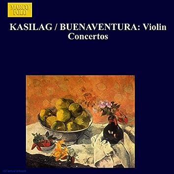 Kasilag / Buenaventura: Violin Concertos