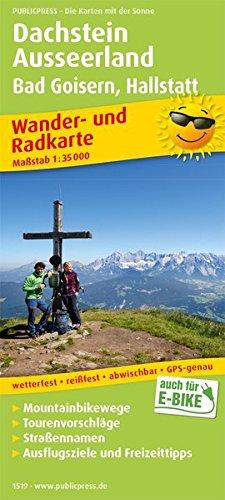 Dachstein, Ausseerland, Bad Goisern, Hallstatt: Wander- und Radkarte mit Ausflugszielen & Freizeittipps, wetterfest, reißfest, abwischbar, GPS-genau. 1:35000 (Wander- und Radkarte: WuRK)