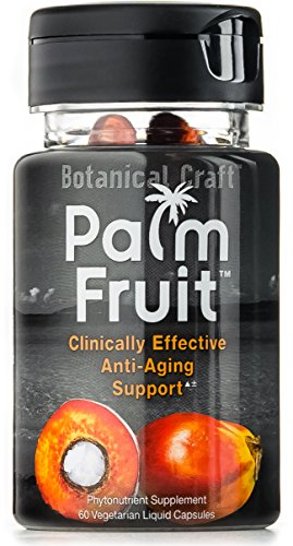 Palm Fruit - Anti-Aging Supplement for Skin Health, Hair Loss, & Free Radical Protection (60 Pills)