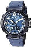 Casio Men's Pro Trek Stainless Steel Quartz Watch with Silicone Strap, Black, 23.5 (Model: PRW-6600Y-2CR)