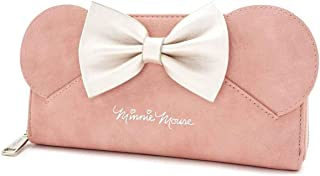 Disney Minnie Mouse Ears Wallet by Loungefly (Pink)