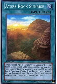 YuGiOh : DRLG-EN020 1st Ed Ayers Rock Sunrise Super Rare Card - ( Dragons of Legend Yu-Gi-Oh! Single Card ) by Deckboosters