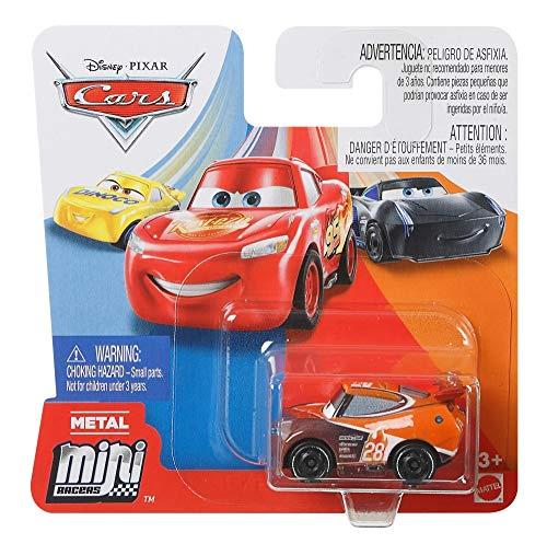 Cars Mattel Disney Pixar Metall Mini Racers 4cm Metallo (Tim Treadless)