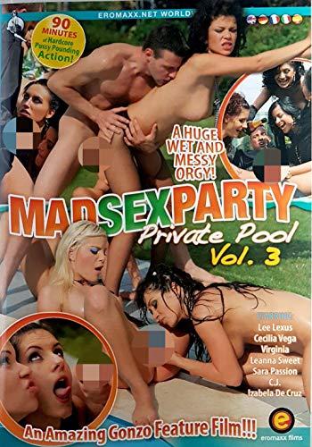 Sex DVD MAD SEX PARTY Private pool 3 EROMAXX 562