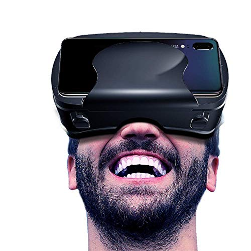 Head Mounted Smart 3D Glasses Virtual Reality Adjustable, Can Watch Movies and Play Vr Games,5 to 7inche Scree