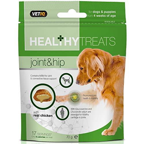 VetIQ Joint Care Dog Treats, 4x70g