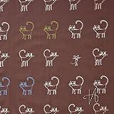 MIRABLAU DESIGN Stoffverkauf bio Baumwolle gemustert,