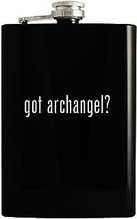 got archangel? - Black 8oz Hip Drinking Alcohol Flask