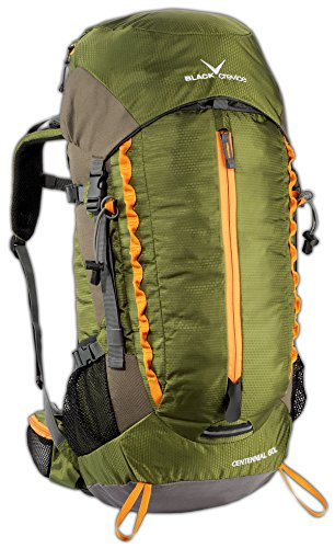 Black Crevice Trekking Rucksack, Centennial 60L, Trekking, Outdoor, Backpack; BCR241000; grün