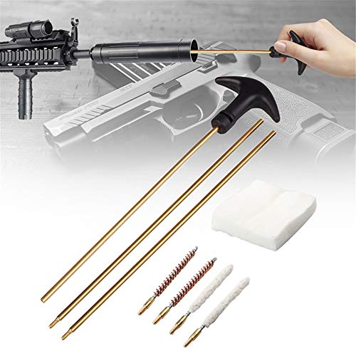 Gun+Cleaning+Kit,Gun Cleaning Kit 9mm,Gun Cleaning Kit with Cleaner, Bore Brush Cleaning kit,Best Gun Cleaning Kit Made of Brass,Gun Cleaning Kits for All Guns,with Box