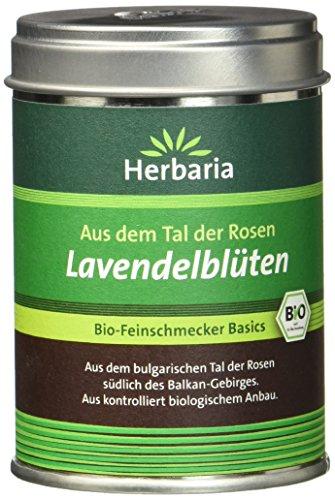 Herbaria Lavendelblüten, 1er Pack  (1 x 15 g Packung) - Bio