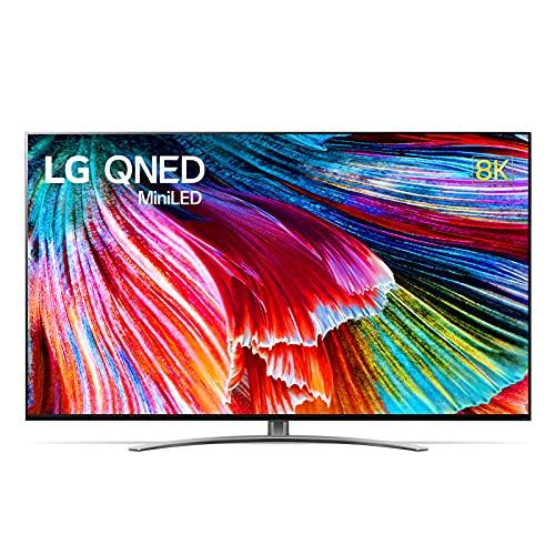 LG 86QNED996PB Smart TV 8K 86', TV Mini LED QNED99 2021 con Processore α9 Gen4, Dolby Vision IQ, Wi-Fi, webOS 6.0, FILMMAKER MODE, Google Assistant e Alexa Integrati, 4 HDMI 2.1, Telecomando Puntatore