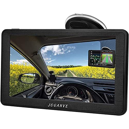 Sat Nav for Car, 7 Inch GPS Navigation Includes Postcodes, Speed Camera Alerts & POI Lane Assistance, Pre-lnstalled UK and EU Latest Maps Free Lifetime Update