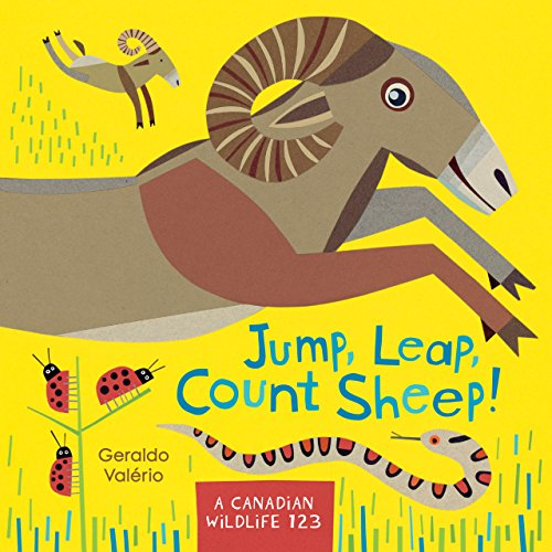 Jump, Leap, Count Sheep! A Canadian Wildlife 123