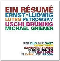 Ein Resume by Griener (2013-05-03)