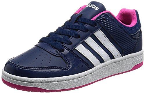 adidas VS Hoopster W Damen Sportschuhe, Blau–(azumis/Ftwbla/Rosimp) 391/3