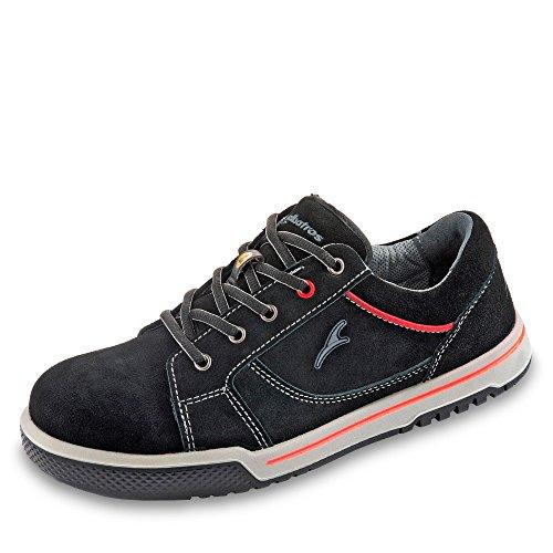 Albatros Freestyle Black LOW, Unisex-Erwachsene  Sicherheits-Sneakers, Schwarz (schwarz), 44 EU