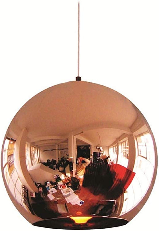 E27 Modern Eisen Pendelleuchte Nordeuropa Stil Hngeleuchte Runden Design Pendellampe Innenbeleuchtung Decken Hngelampe Lampe für Schlafzimmer Esszimmer Cafe Küche Nachttischlampe RoséGold