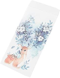 30pcs Deer Invitation Envelopes Stationery Artistic Greetings Cards for Wedding, Birthday, Baby Shower