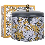 LA JOLIE MUSE Orange & Bergamot Scented Candle, 100% Natural Candle for Home,40-50 Hours Long Burning, Tin, 14.1Oz/400g