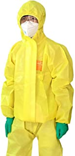 gr/ö/ße : XXL Split Chemikalienschutzanzug S/äure und Alkali Anti-Splash Chemische Fabrik Schutzkleidung