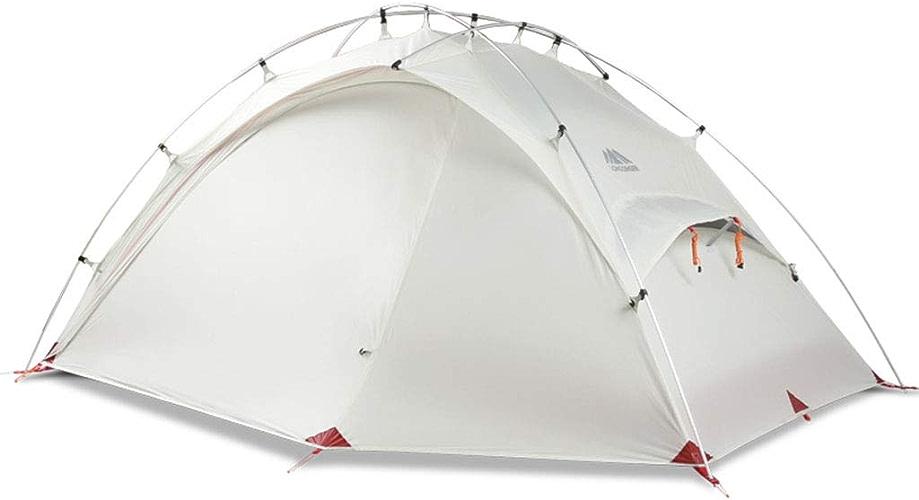 Tent Un Seul Côté Enduit d'une Alpine Double Ultra LéGèRe Enduite d'une RandonnéE, Un Compte De Camping en Montagne (2 Couleurs)